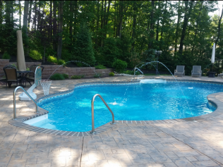 Swimming pool contractor pool service repair toms for Pool design hamilton nj