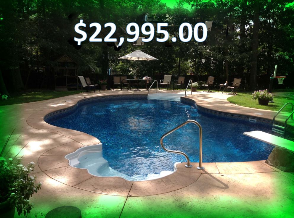 Inground pool design ideas for Pool design inc bordentown nj